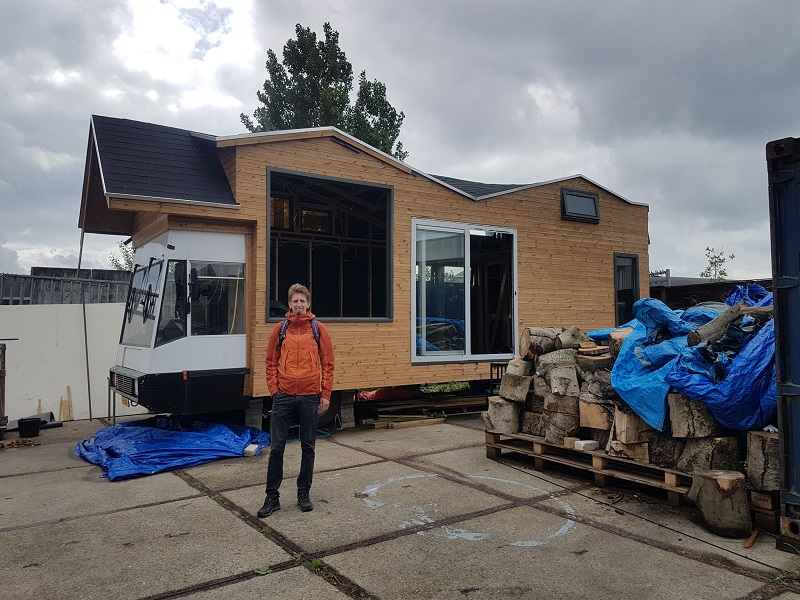 bouwlocatie tiny house