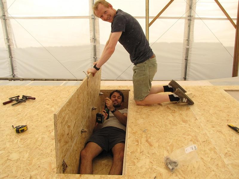 bouwen tiny house