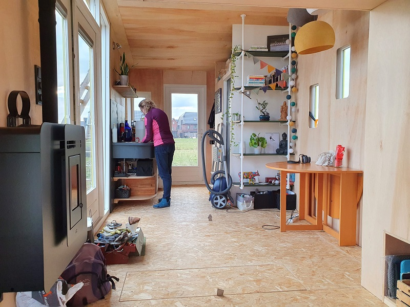 inrichting tiny house